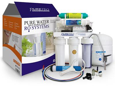 美國 PurePro EC106A-P 鹼性石石RO淨水器 <<簡單的設計外型>>