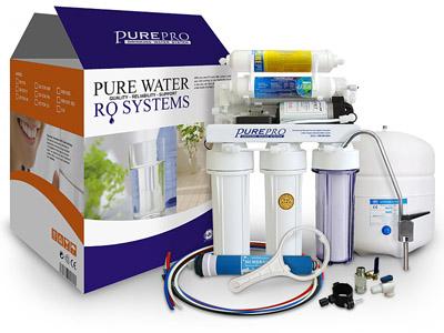 美國 PurePro EC106M-P 麥飯石RO淨水器 <<簡單的設計外型>>