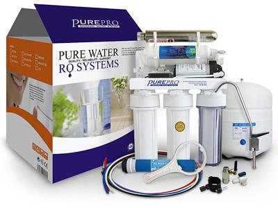 美國 PurePro EC106UV-P UV紫外線殺菌RO淨水器